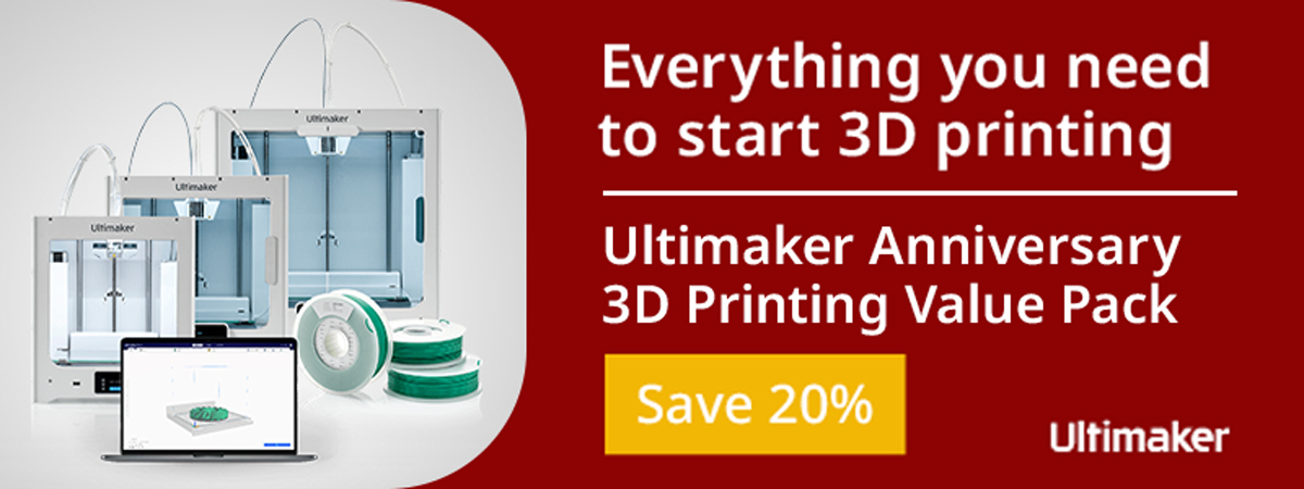Ultimaker 10 Year Anniversary - 20% Off Value Packs